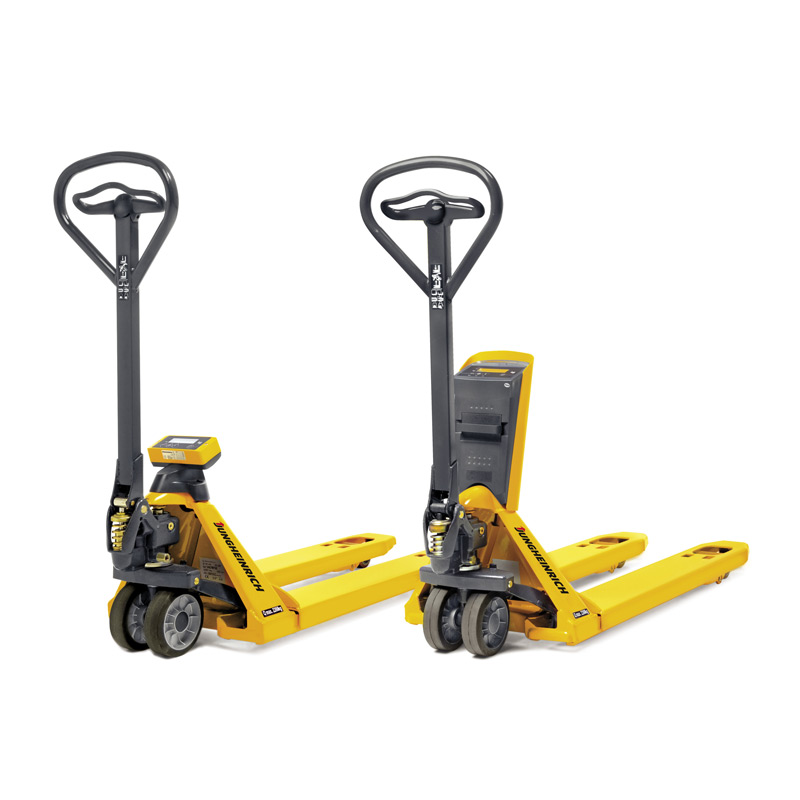 Jungheinrich Hand Pallet Truck with Weighing Scale